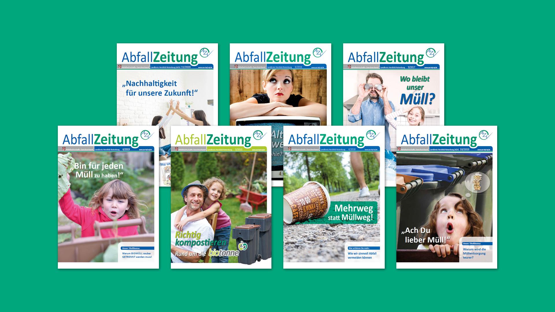 AbfallZeitung des Abfallwirtschafts-Zweckverband Landkreis Hersfeld-Rotenburg (AZV)