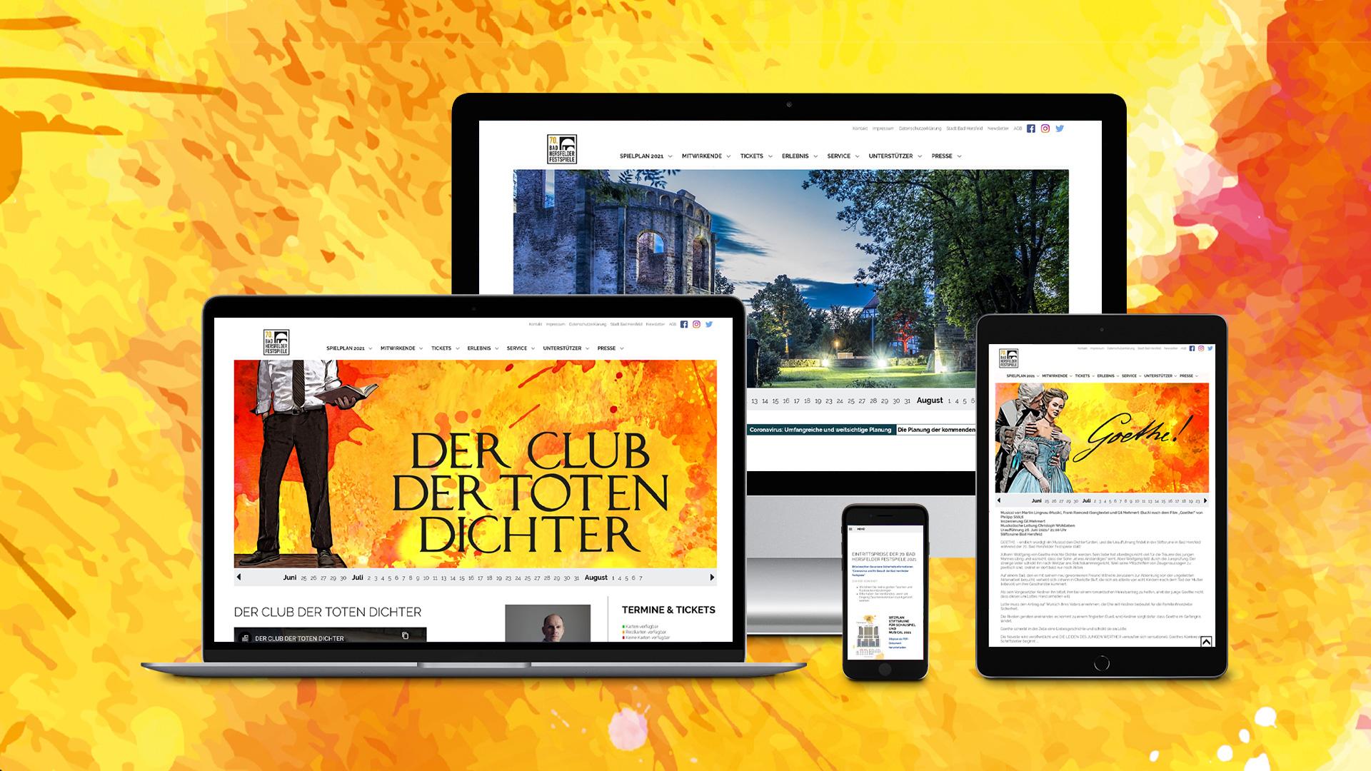 Bad Hersfelder Festspiele – Website
