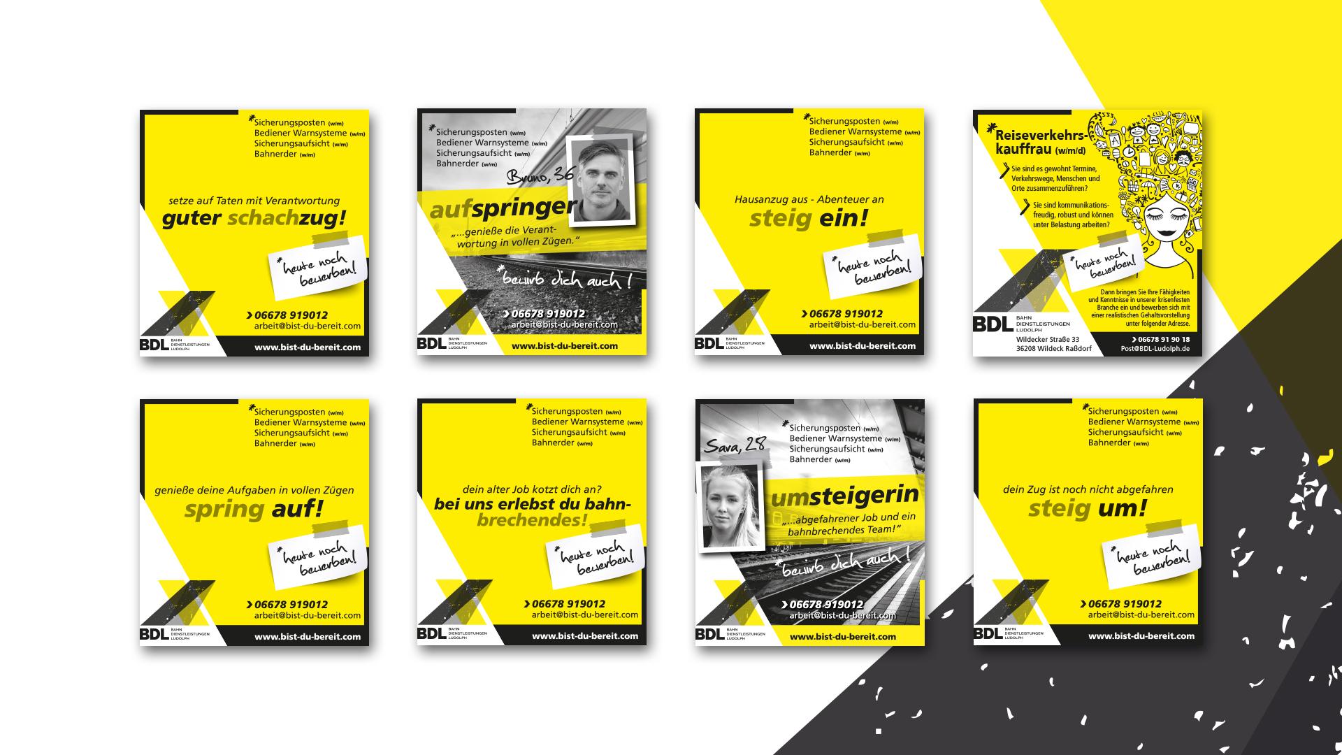 Anzeigen für BDL Bahndienstleistungen Ludolph GmbH