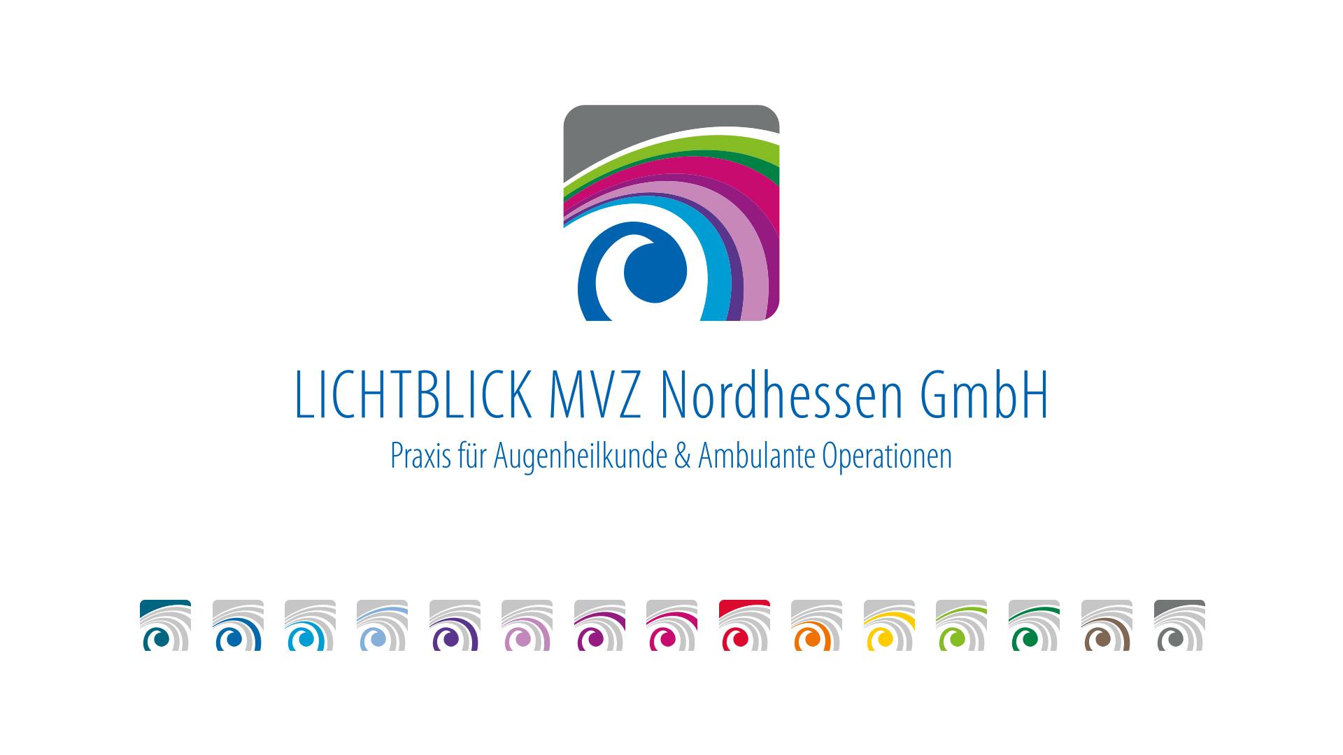Logoentwicklung Lichtblick MVZ Nordhessen GmbH