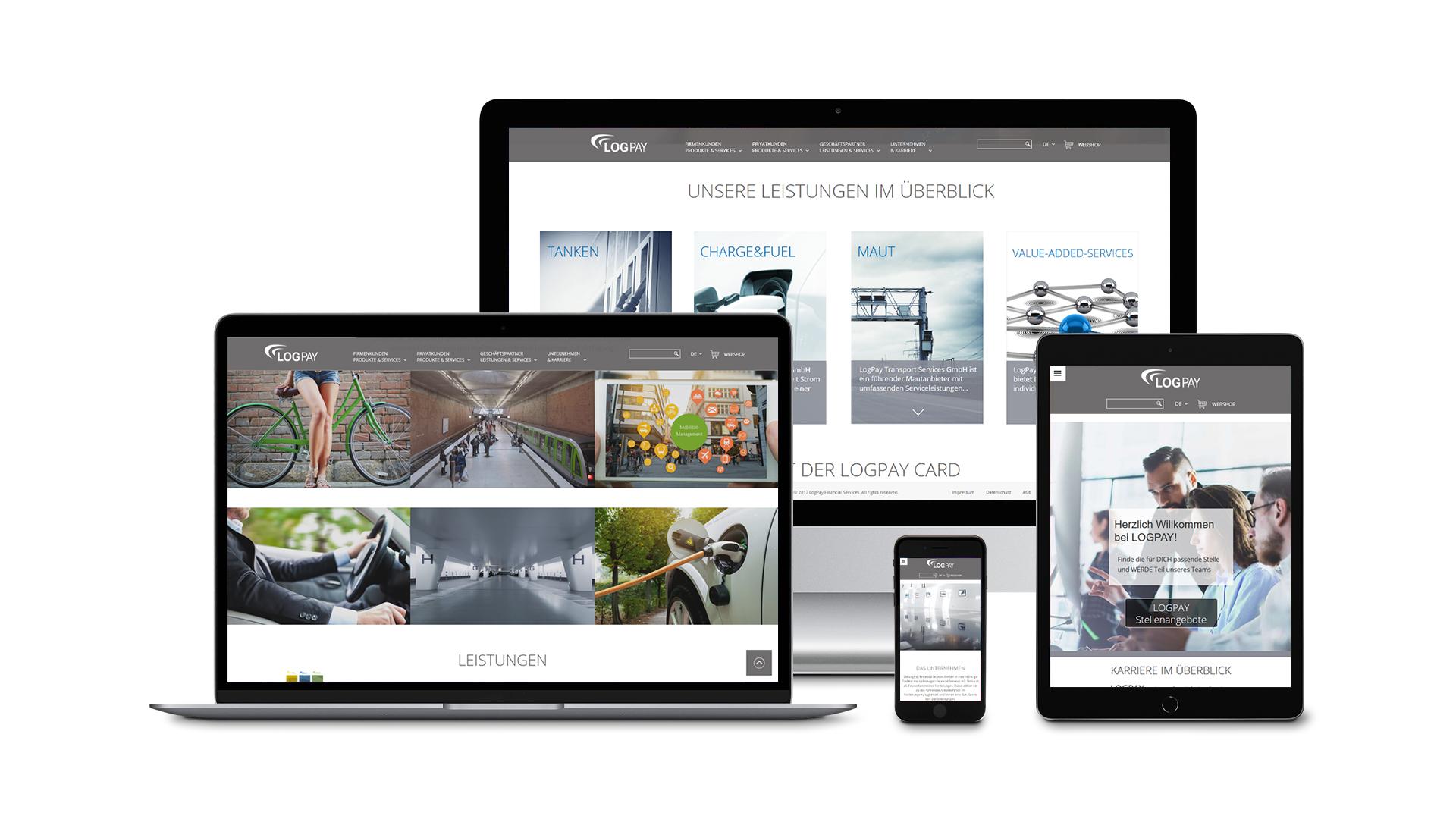 LogPay – Webdesign