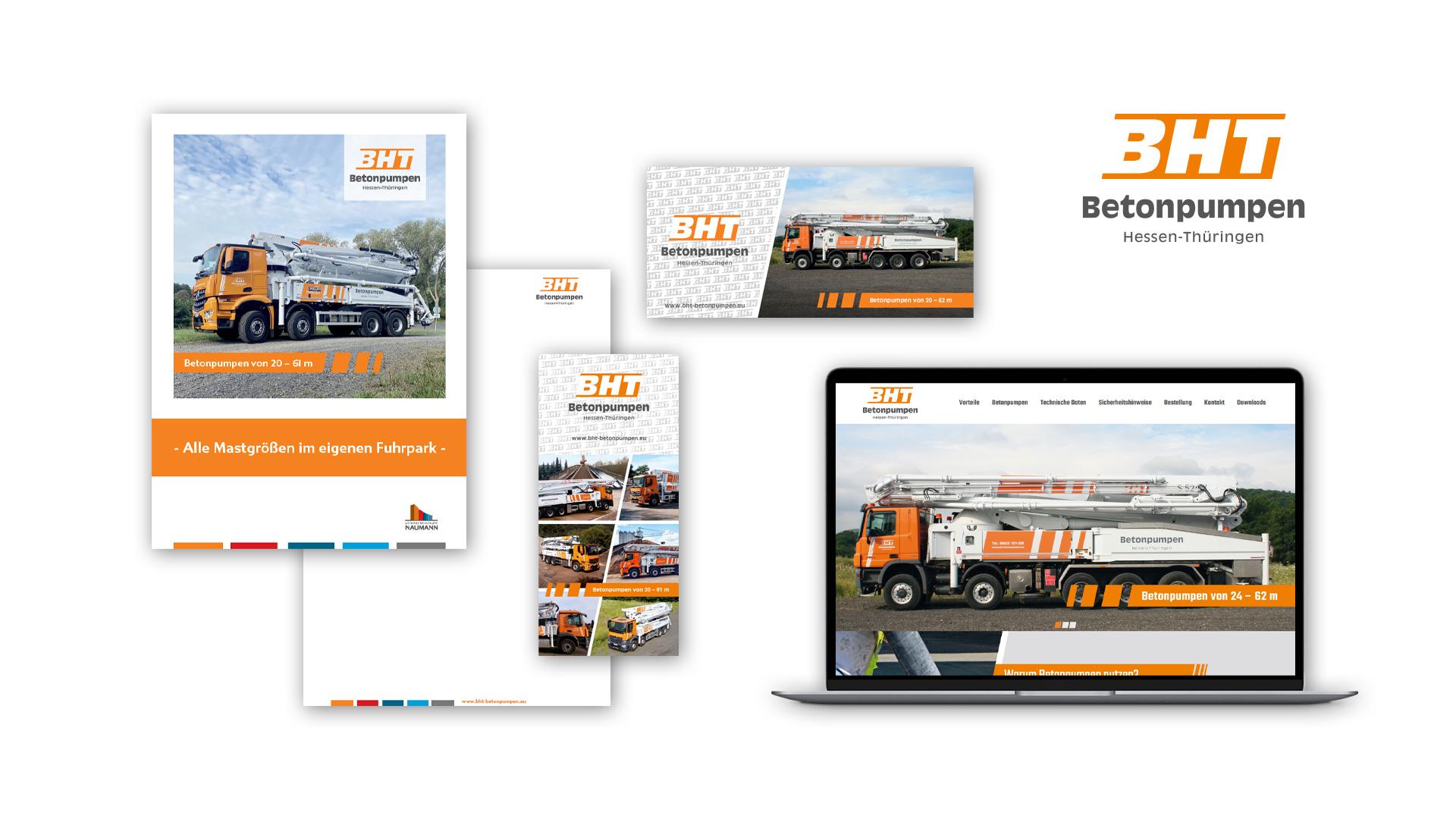 Webdesign – BHT