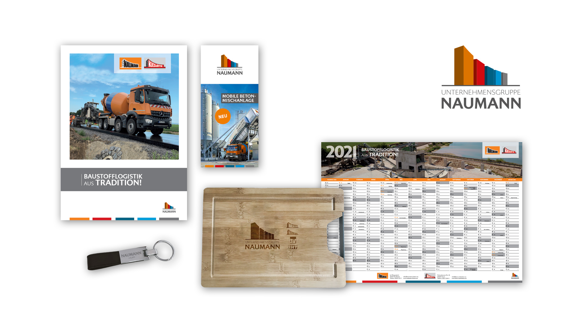 Corporate Design – Unternehmensgruppe Naumann