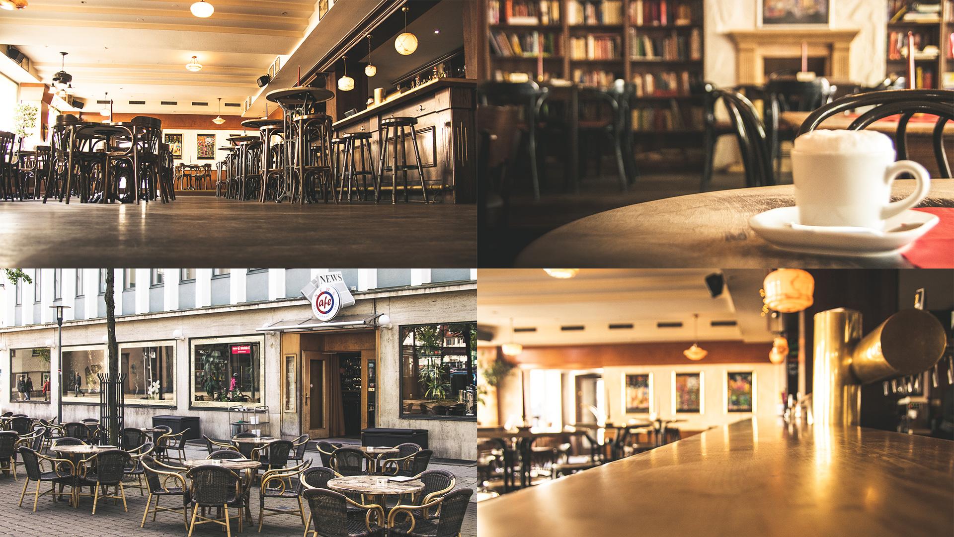 Fotografie des NEWS Café Bad Hersfeld