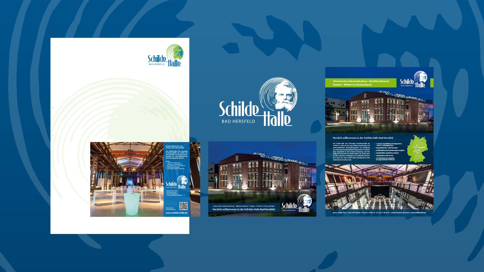 Corporate Design der Schilde Halle Bad Hersfeld