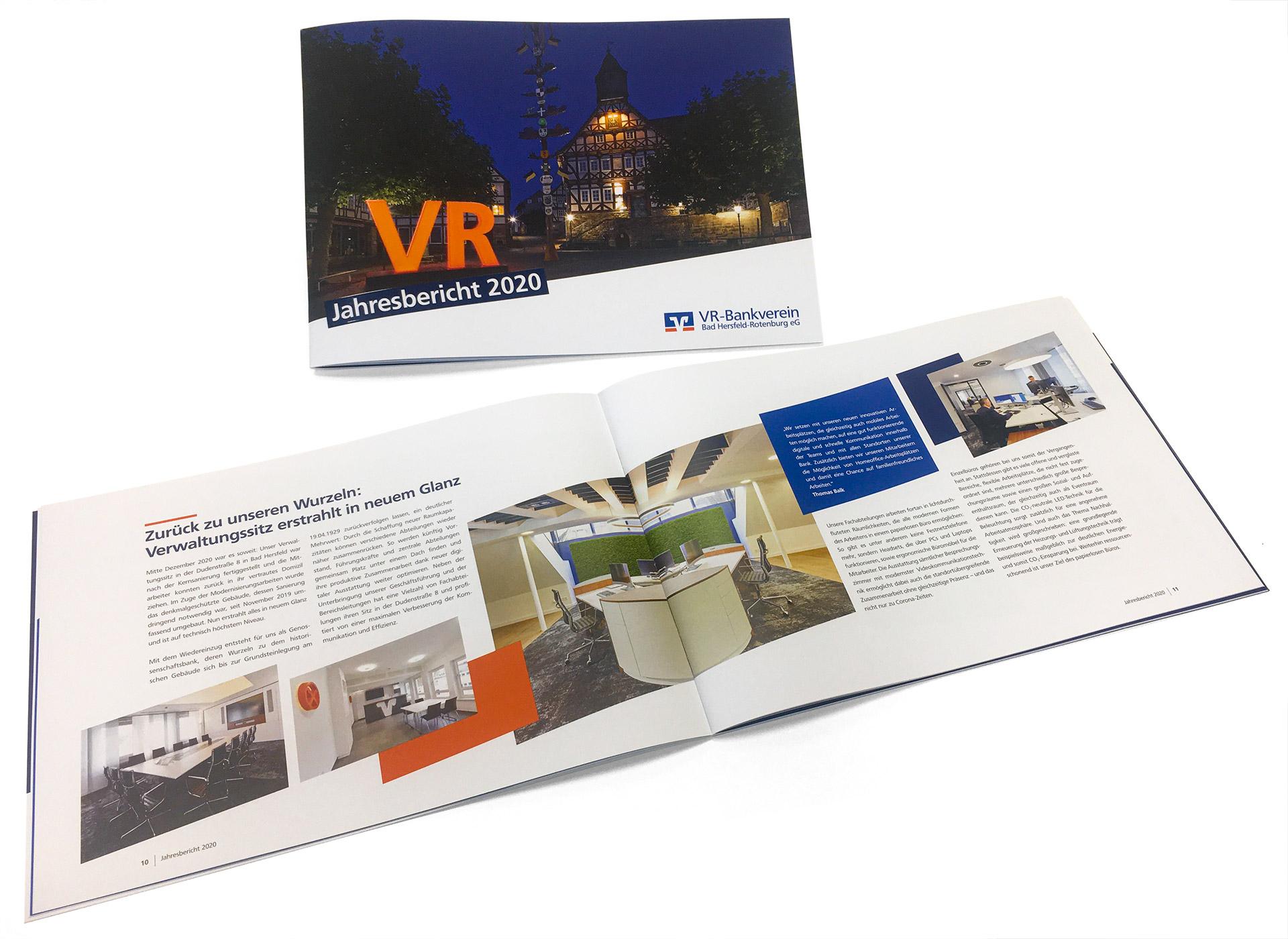Geschäftsbericht 2020 der VR-Bankverein Bad Hersfeld-Rotenburg eG