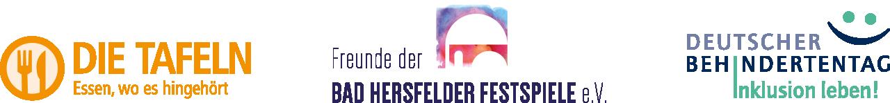 roe-designz ist Förderer der Tafel, der Freunde der Festspiele & des Deutschen Behindertentages